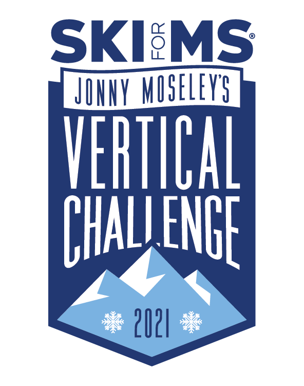 Ski for MS Jonny Moseley's Vertical Challenge 2021 logo